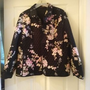 Designer quilted jacket excellent condition